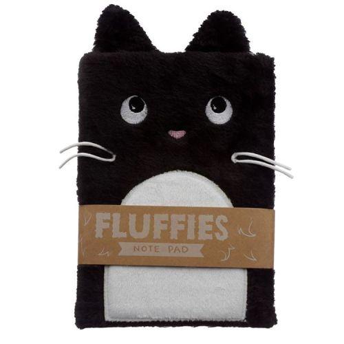 Notitieboekje A5 - Pluche kaft Feline Fine Cat