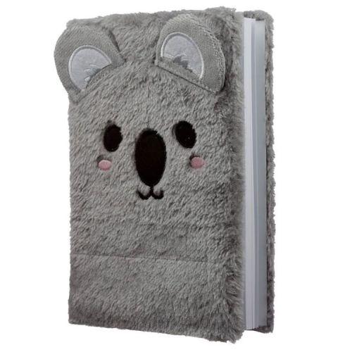 Notitieboekje A5 - Pluche kaft Cutiemals Koala
