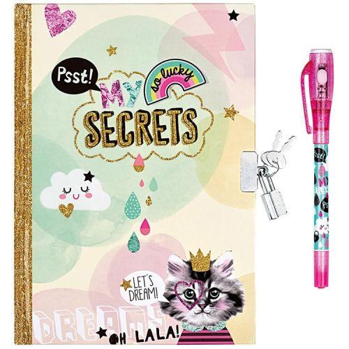 Dagboek met slot en magische pen - My secrets