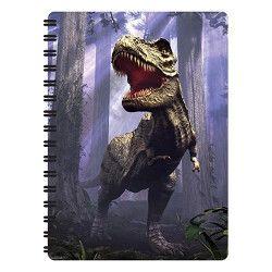 Notitieboekje 3d T-rex dinosaurus