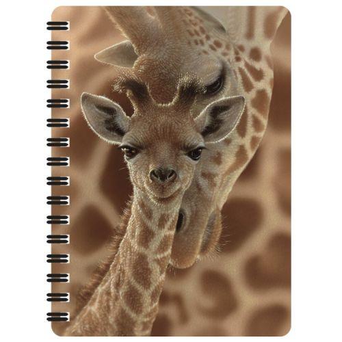 Notitieboekje 3d Giraffe