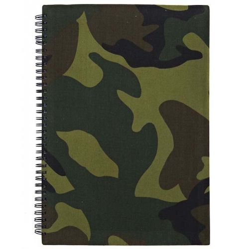 Notitieboek A4 Camouflage Groen