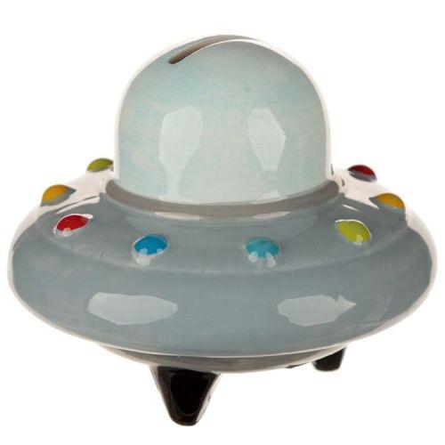 Spaarpot UFO ruimteschip