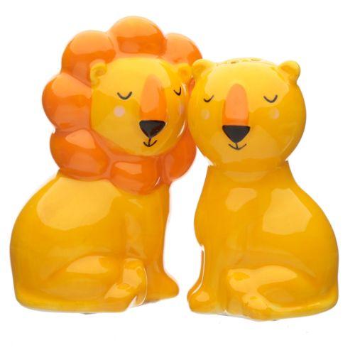 Peper en zoutstel leeuw