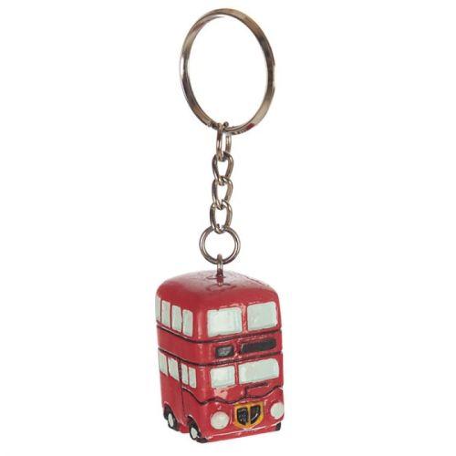 Sleutelhanger Londense dubbeldekker bus