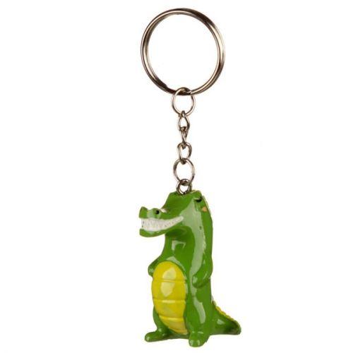 Sleutelhanger Zooniverse krokodil