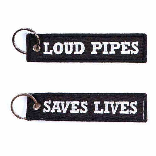 Sleutelhanger Loud pipes saves lives