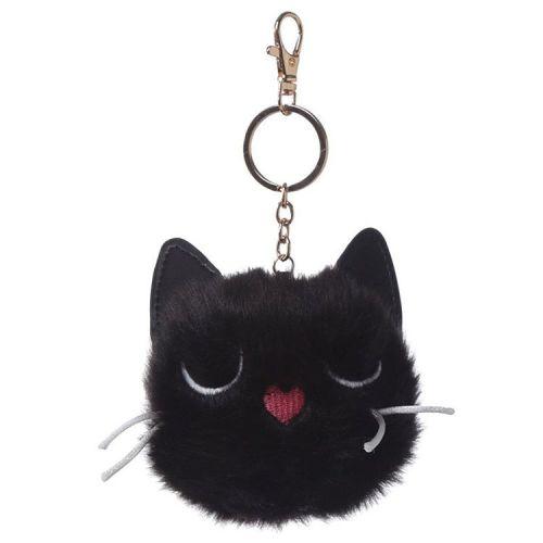 Sleutelhanger pluche pompom Feline Fine Cat