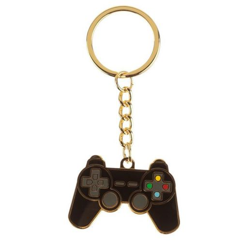 Sleutelhanger emaille Gameconsole Game Over