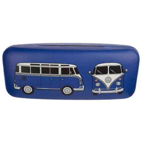 Brillenkoker Volkswagen T1 Kampeerbus blauw