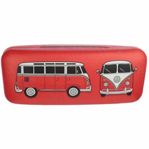 Brillenkoker Volkswagen T1 Kampeerbus rood