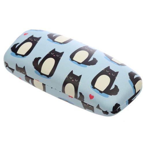 Brillenkoker Feline Fine Cat - lichtblauw