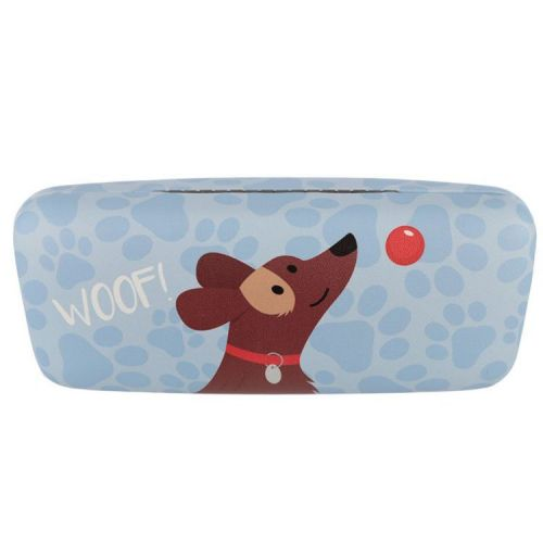 Brillenkoker hondje - lichtblauw