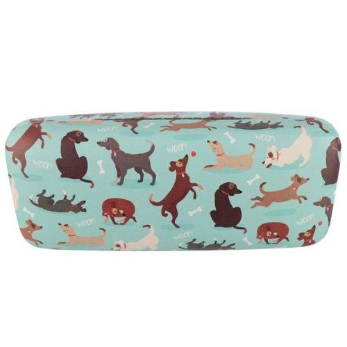 Brillenkoker hondjes - lichtblauw