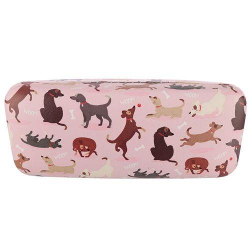 Brillenkoker hondjes - lichtroze