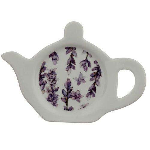 Theezakjeshouder Bloemen Lavendel