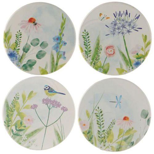 Set van 4 onderzetters - Botanische Tuin