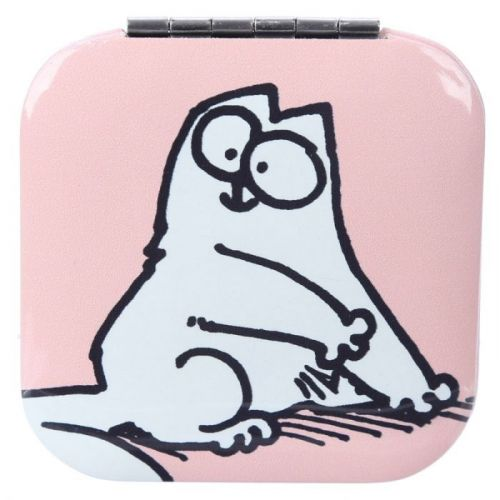 Make-up spiegeltje Simon's Cat roze
