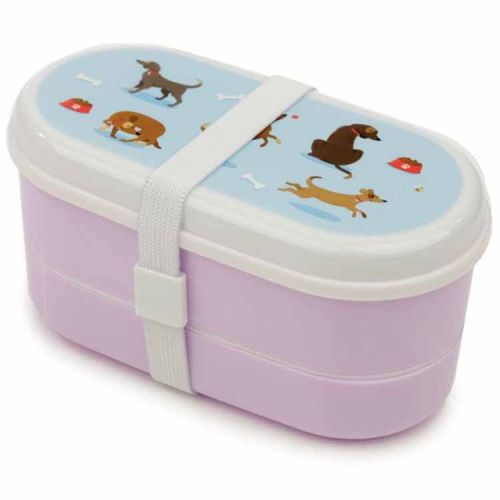 Japanse lunchbox/Bento box - Hondjes