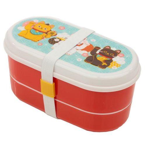Bento lunchbox - Maneki Neko Gelukskat