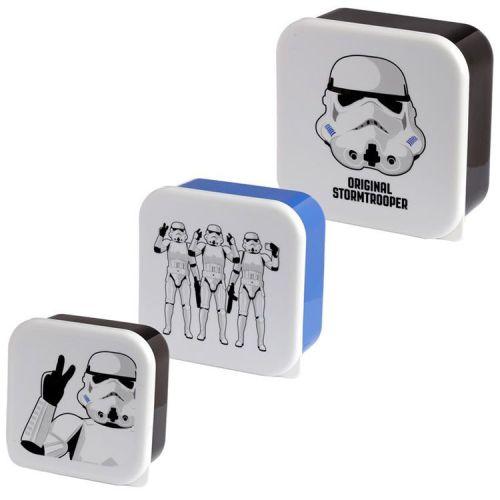 Set van 3 lunchtrommels - Stormtroopers