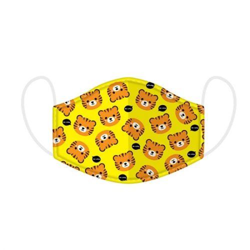 Mondkapje kinderen - tijgers cutie animals