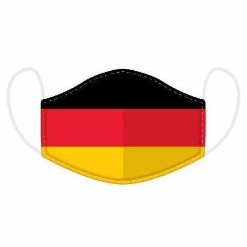 Mondkapje - Duitse vlag