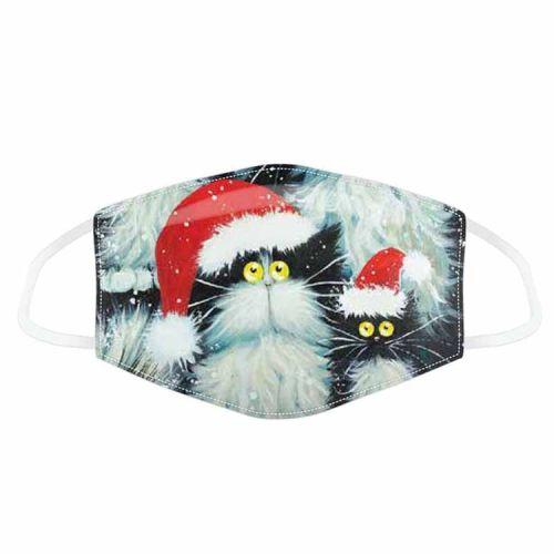 Mondkapje - Kim Haskins - Kerst Katten