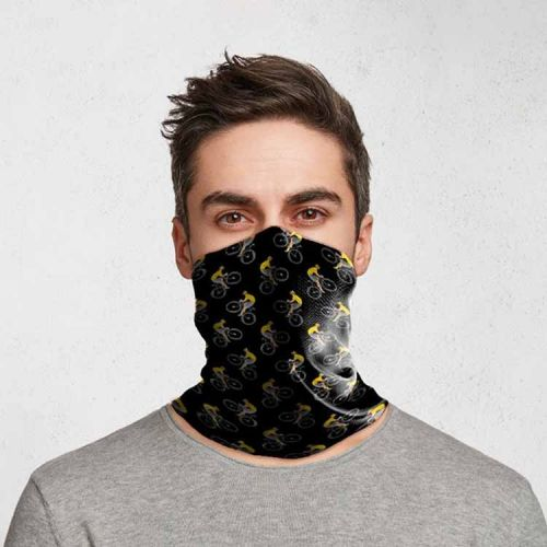Gezichtsbedekking sjaal - Camouflage Racefietsers