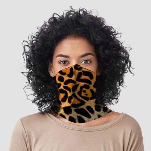 Gezichtsbedekking sjaal - Luipaardprint