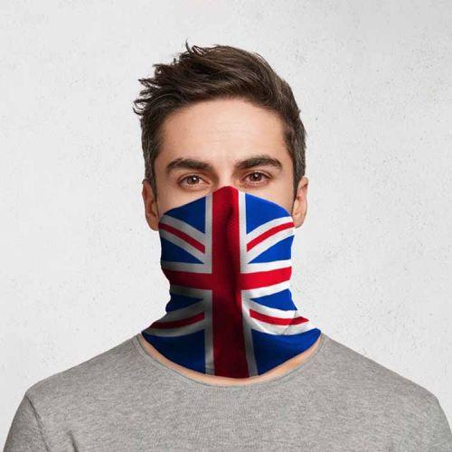 Gezichtsbedekking sjaal - Britse Vlag