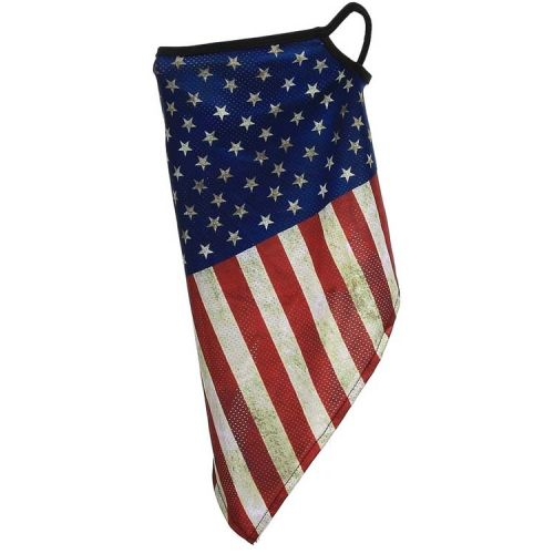 Gezichtsbedekking sjaal - Amerikaanse vlag Vintage