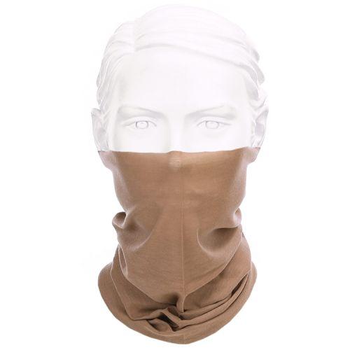 Gezichtsbedekking sjaal - Face Wrap beige/bruin