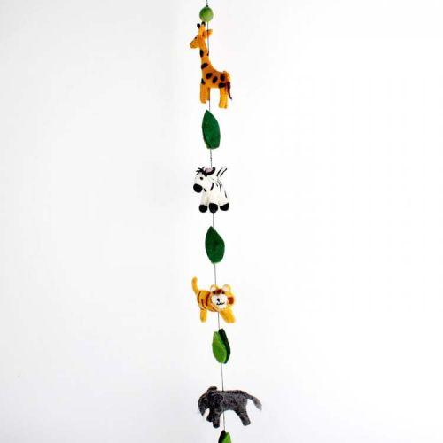Vilten slinger jungle