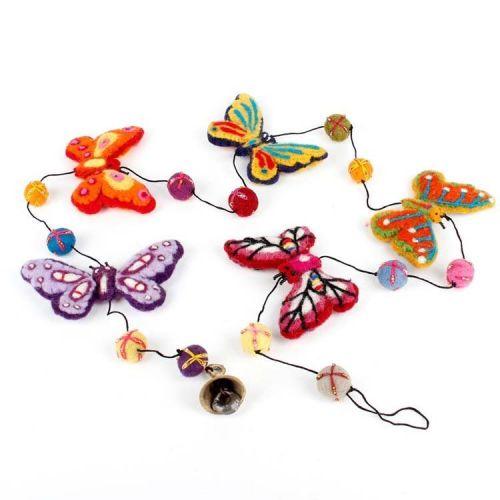 Vilten slinger vlinders groot
