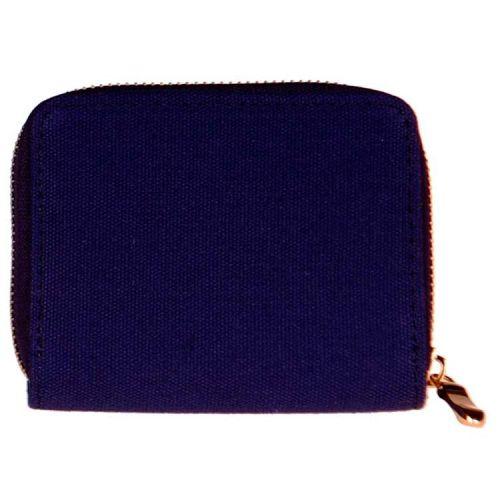 Portemonnee stof blauw