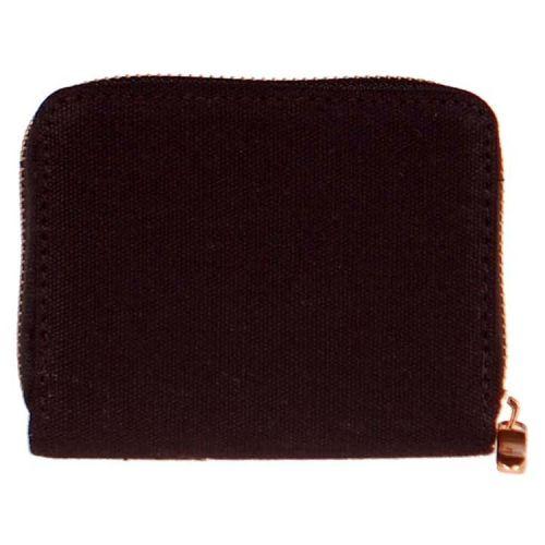 Portemonnee stof zwart
