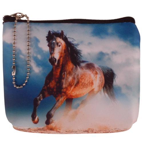Kleine portemonnee paard