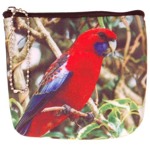 Kleine portemonnee papegaai