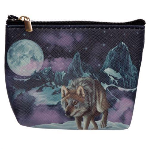 Kleine portemonnee wolf - wachter van het noorden