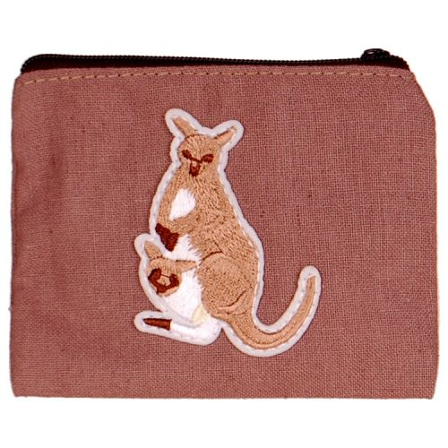 Kleine portemonnee met kangaroe