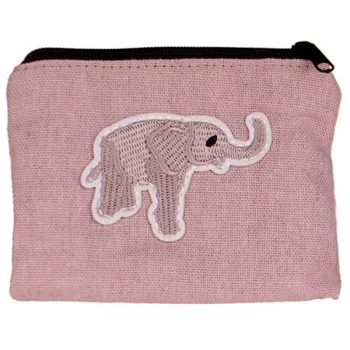 Kleine portemonnee met olifantje