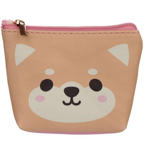 Kleine portemonnee - Cutie Animals - Shiba Inu