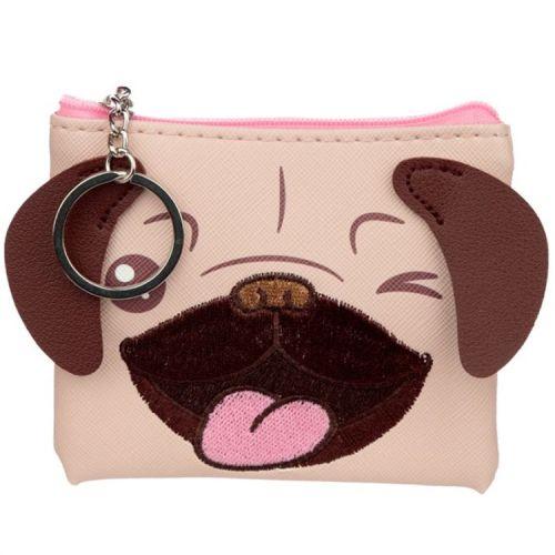 Kleine portemonnee - Mopshond