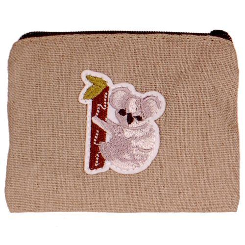 Kleine portemonnee met koala