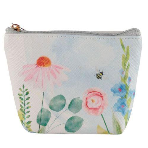Kleine portemonnee Botanische tuin bloemen