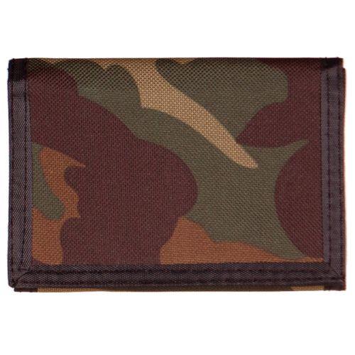 Portemonee camouflage groen