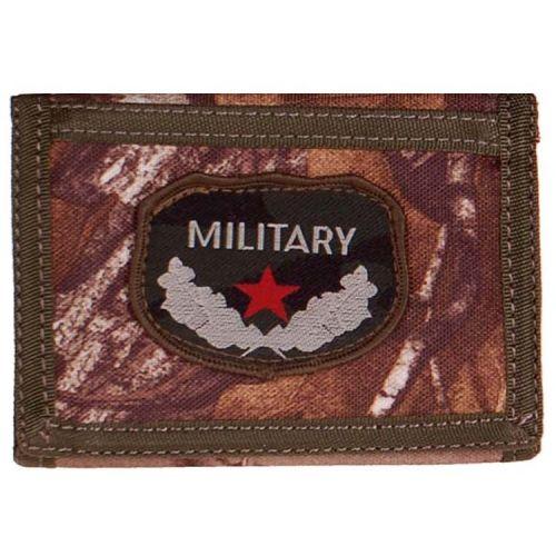 Portemonnee Camo/Bush met embleem Military