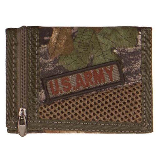 Portemonnee Camo/Bush met embleem US Army
