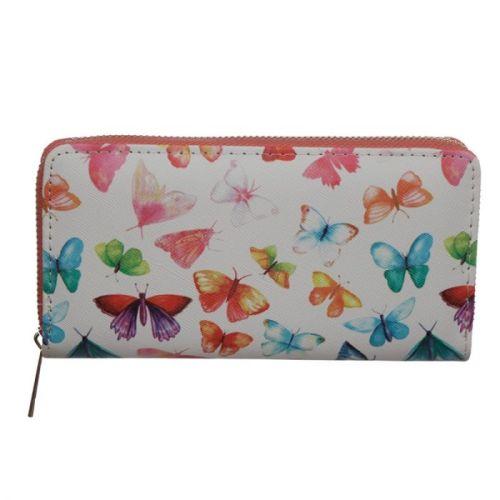 Portemonnee groot vlinders